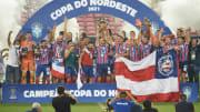 É treta! Ao lado do arquirrival Vitória-BA, o Bahia se tornou o maior campeão da história da Copa do Nordeste.