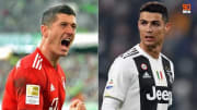 Lewandowski and Ronaldo make it to the top 10 strikers in world football right now