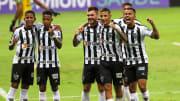 Arana anotou o gol da vitória do Galo sobre o Boa Esporte