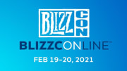 BlizzCon, in an online format called BlizzConline, will take place Feb. 19 and 20, 2021.