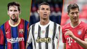Lionel Messi, Cristiano Ronaldo et Robert Lewandowski font évidemment partie de ce classement.