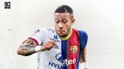 Memphis Depay est l'une des pistes envisagées par le Barça pour renforcer son secteur offensif.