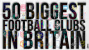 We're ranking the 50 biggest clubs in Britain....