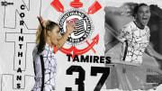 Tamires é uma das maiores craques em ação no Brasileirão Feminino