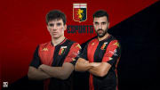 Gabriel Llaho e Rosario Accurso, i pro player del Genoa eSports