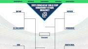 2021 printable bracket for Gold Cup