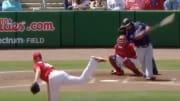 Philadelphia Phillies SP Zack Wheeler's nasty two-seam fastball