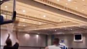 Doncic durante una sesión de entrenamientos en Orlando