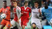 Dominic Adeyiah, Toby Alderweireld, Holger Badstuber, Gareth Bale, Mario Balotelli