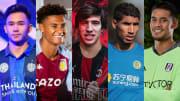 Supachok Sarachart, Olli Watkins, Sandro Tonali, Achraf Hakimi, Alphonse Areola