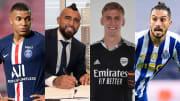 Kylian Mbappe, Arturo Vidal, Alex Runarsson, Alex Telles