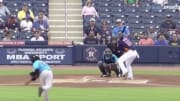 Miami Marlins pitcher Jose Ureña drilled Houston Astros batter Aledmys Diaz