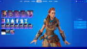A Fortnite Aloy skin was leaked ahead of the Horizon Dawn crossover.