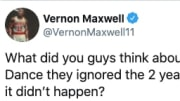 Former Houston Rockets guard Vernon Maxwell is right to be annoyed with the directors of The Last Dance