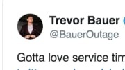 Trevor Bauer called out the Indians for their service time manipulation of top prospects.