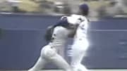 Pedro Martinez once lost a perfect game by hitting Reggie Sanders and then got dominated after he charged the mound.