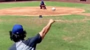 Chicago Cubs RHP Yu Darvish was throwing nasty pitches during a recent workout.