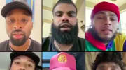 An All-Star cast of NFL players came together to implore the NFL to make a strong statement on racism in this country.