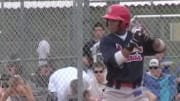 Video of Francisco Lindor's high school baseball highlights is an incredible throwback.