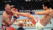 Lyoto Machida ends Randy Couture's career at UFC 129 with a vicious crane kick
