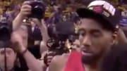 Kawhi Leonard le dio a los Raptors su primer título