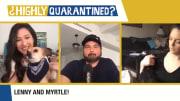 Mina Kimes, Dan Le Batard and Katie Nolan on Highly Quarantined.