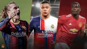 Griezmann, Mbappé, Pogba font l'actu mercato