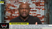"Booger McFarland on ""Get Up"""
