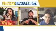 Mina Kimes, Dan Le Batard and Katie Nolan on Highly Quarantined