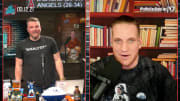 """Pat McAfee and A.J. Hawk on """"The Pat McAfee Show"""""""