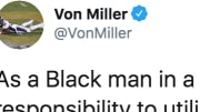 Denver Broncos star Von Miller's Twitter Account