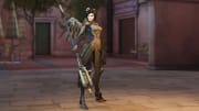 Overwatch Archives 2021 Week 3 Challenges reward players with Camouflage Mercy cosmetics for winning games across story missions.