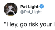 Former Boston Red Sox reliever Pat Light