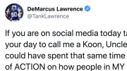 DeMarcus Lawrence fired back at those who criticized him on Twitter