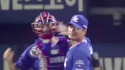 Former MLB closer Seung Hwan Oh recorded his 400th career save.