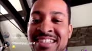 Portland Trail Blazers guard CJ McCollum on Instagram Live