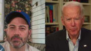 Joe Biden comically trolled Mets fan Jimmy Kimmel but did so in truly discomforting fashion