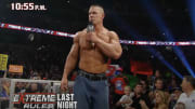 John Cena breaking the bin Laden news on a WWE PPV in 2011.