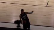 NBA Rail Cam near-disaster