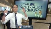 Steve Kornacki at the Kentucky Derby.
