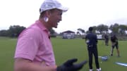 Peyton Manning talks during The Match: Champions for Charity