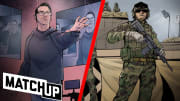 """In this episode of Matchup, Makenzie """"Mack"""" Kelley compares and contrasts his role in Call of Duty to that of a Navy Builder. Hear how the two both prepare and train to be the best that they can be."""