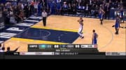 Mike Conley travels against Golden State (12-16-14)