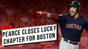 Steve Pearce continued the tradition of random, lucky Red Sox utility men.