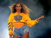 Beyoncé at Coachella 2018, subject of the documentary 'Homecoming'