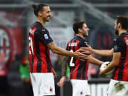 Zlatan Ibrahimovic, Hakan Calhanoglu