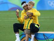 Neymar, Davi Lucca da Silva Santos