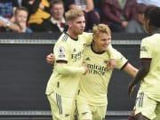 Arsenal berhasil mengatasi perlawanan Burnley dengan skor 1-0