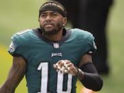 DeSean Jackson injury update crushes his Week 8 fantasy football outlook.