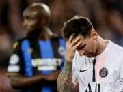 Lionel Messi failed to find the back of the net in his Champions League debut for PSG